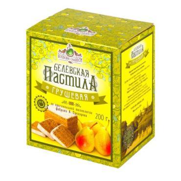 Пастила грушевая Белевские сладости, 200 гр., картонная коробка