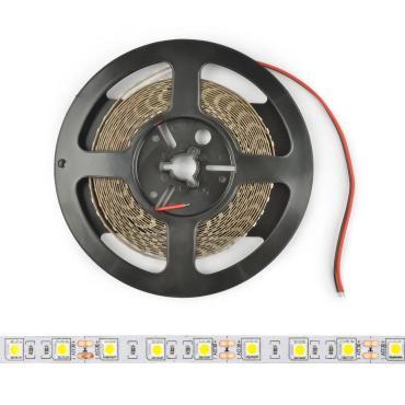 Гибкая светодиодная лента на самоклеящейся основе, катушка 5 м., в герметичной упаковке, ULS-M22-5050-30LED/m-10mm-IP20-DC12V-7,2W/m-5M-RGB PROFI Г, Uniel, 80 гр.