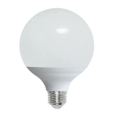 Лампа светодиодная форма шар, матовая, серия Norma, теплый белый свет 3000K, LED-G120-22W/3000K/E27/FR/NR, Volpe, 475 гр., картонная коробка