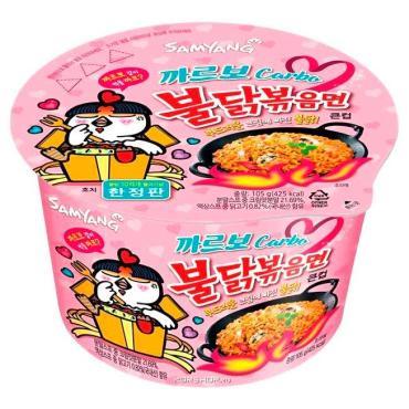 Лапша Sanyang азиатская со вкусом курицы в соусе 105 гр.
