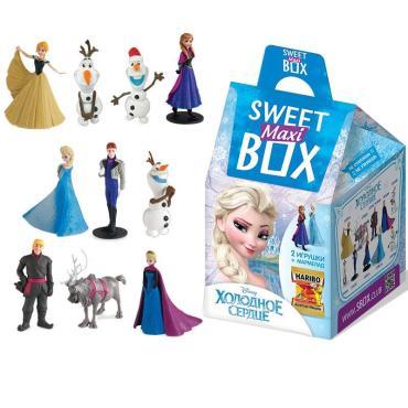 Мармелад с игрушкой Sweet Box Disney Холодное Сердце макси, 20 гр., картонная коробка