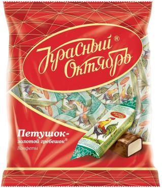 Конфеты Красный Октябрь Петушок золотой гребешок весовые