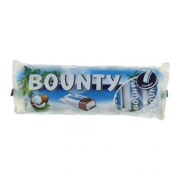 Шоколадный батончик Bounty мультипак  192 гр.