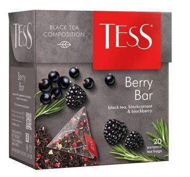 Чай черный Tess Berry Bar 20 пакетиков