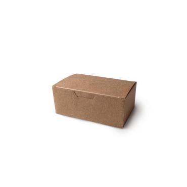 Упаковка для куриных крыльев и наггетсов, малая, крафт