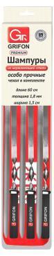 Шампуры с чехлом 60 см. 6 шт. Grifon Premium, блистер