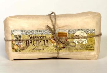 Пастила Белевская с сахаром Яблочная (г. Тула), Старые Традиции, 300 гр, обертка