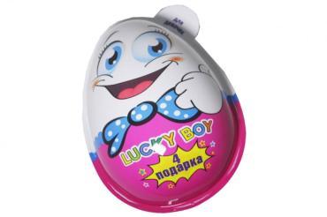 Яйцо Lucky Boy с сюрпризом для девочек