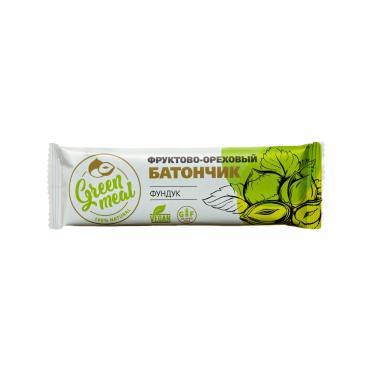 Батончик Green Meal фруктово-ореховый Фундук