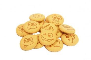 Печенье Смайлики, А-продукт, 4 кг., картонная коробка