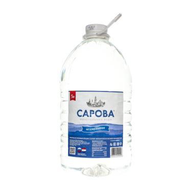 Вода Сарова питьевая негазированная