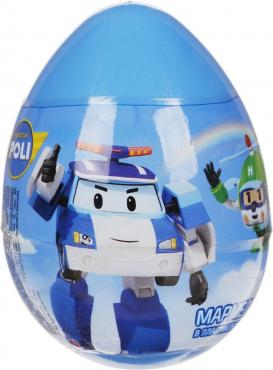 Мармелад Конфитрейд Робокар Поли в яйце с игрушкой