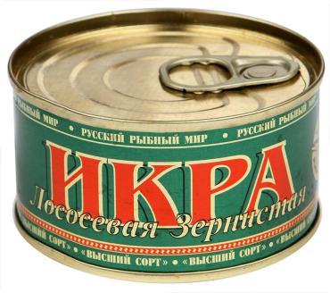 Икра Русский рыбный мир лососевая зернистая
