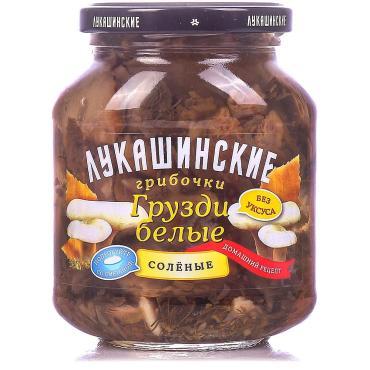 Грибы Лукашинские Грузди белые соленые Домашний рецепт