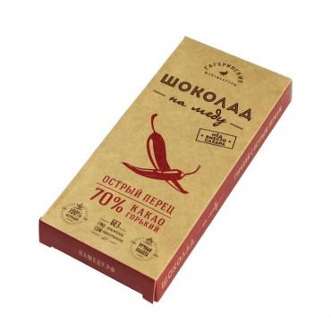 Шоколад Шоколад На Меду Горький 70% какао С Острым Перцем