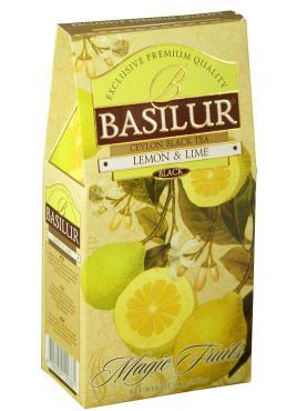 Чай Basilur Лимон и Лайм