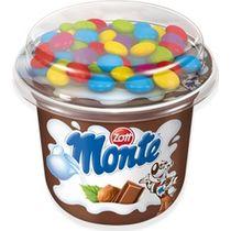 Десерт Monte Top Cup шоколадный с драже