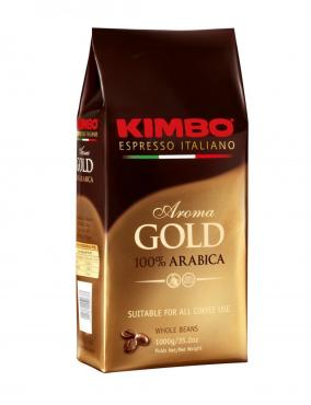 Кофе Kimbo Aroma Gold Arabica в зернах 1000 гр