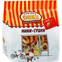 Мини-сушки Семейка Озби с маком 150 гр