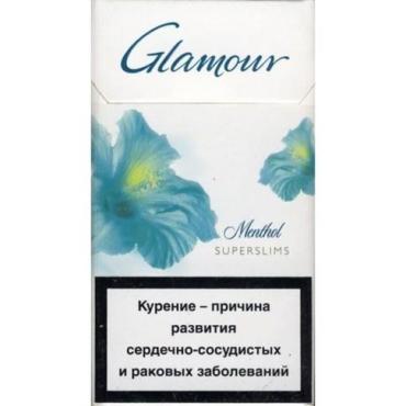 Сигареты Glamour с фильтром Menthol Super Slims