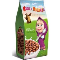 Кольца Маша и Медведь шоколадные 250 г