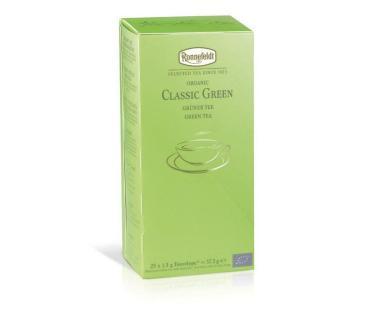 Чай зеленый Ronnefeldt Классический 25 пакетов, Германия