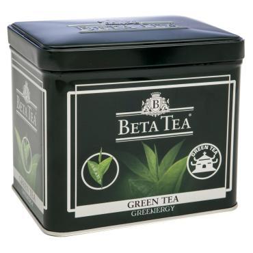 Чай зеленый, Beta Tea, 100 гр., жестяная банка