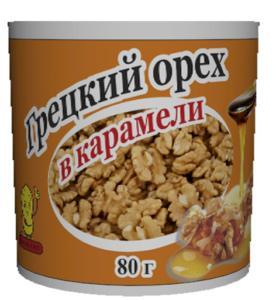 Грецкий орех в карамели Jinhua Food