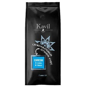 Кофе зерновой Kavil ESPRESSO 70/30 вес