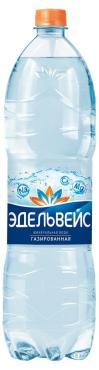 Вода минеральная Эдельвейс лечебно-столовая газированная