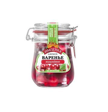 Варенье Империя Джемов вишневое на фруктузе