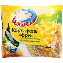 Картофель фри, 4 Сезона,  10 мм.