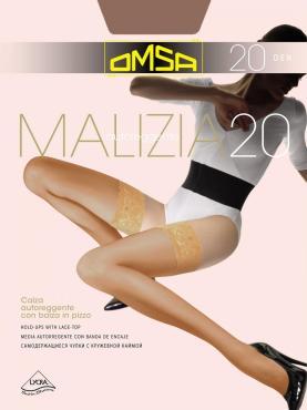 Колготки OMSA Malizia 20 den nero размер 2