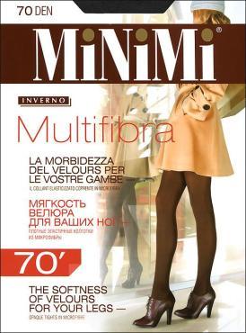 Колготки MiNiMi Multifibra 70 Den 4 Nero