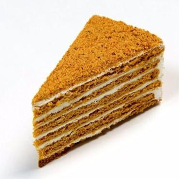 Торт Слоянка Медовик в креме