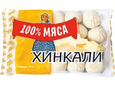 Хинкали степные 100% мяса, Уральские пельмени