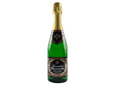 Шампанское Российское белое полусладкое 10,5-13%