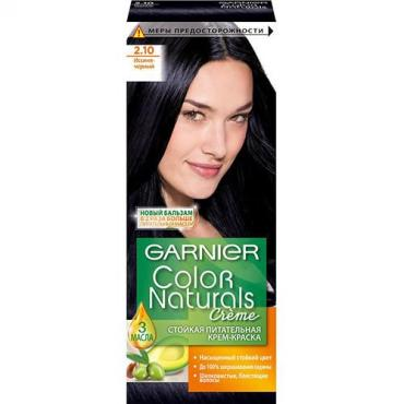 Крем-краска Garnier Color Naturals Для волос оттенок 2.10 Иссиня-черный