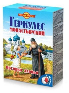 Геркулес Русский Продукт Монастырский овсяные хлопья