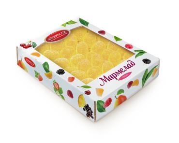 Мармелад желейный со вкусом груши Азовская кондитерская фабрика