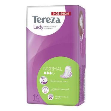 Прокладки урологические Tereza Lady Normal, 14шт