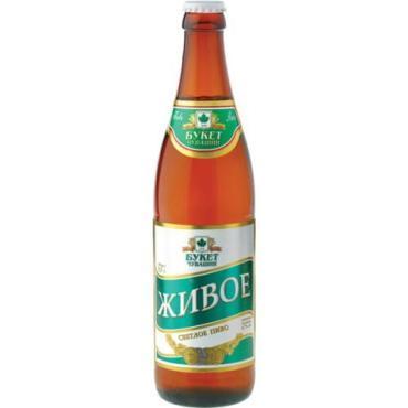Пиво Живое Белореченское 4%