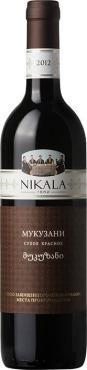 Вино Никала 1862 Мукузани / Nikala 1862 Mukuzani,  Саперави,  Красное Сухое, Грузия