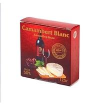 Сыр Camambert Blanc мягкий с белой плесенью 50%