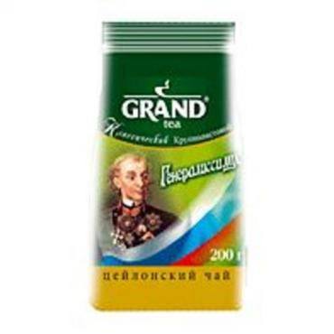 Чай черный Grand Генералиссимус мелколистовой 200 гр