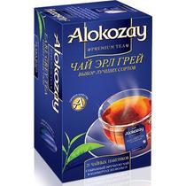Чай черный Alokozay Earl Grey 25 пакетов