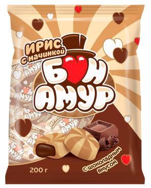 Ирис Ламзурь Бон Амур с шоколадной начинкой