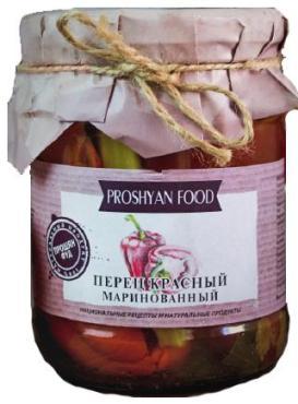 Перец Proshyan Food красный маринованный свежемолотый