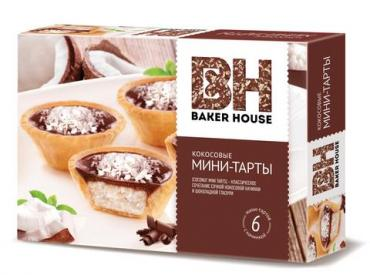 Мини-Тарты Baker Hause Кокосовые
