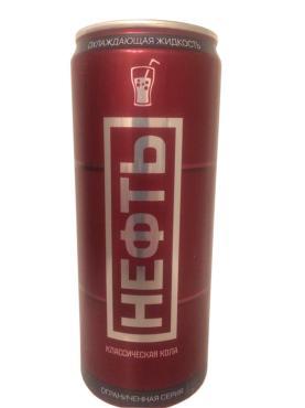 Газированный напиток Neft безалкогольный  Кола